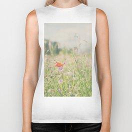 wild flowers ... Biker Tank