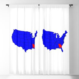 State of Georgia Location Blackout Curtain