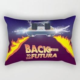 Back to the Futura Rectangular Pillow