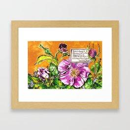 Promise of Summer Framed Art Print