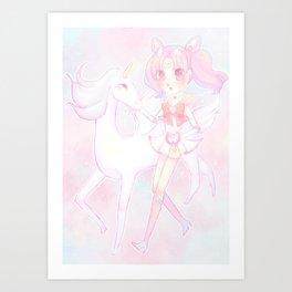 ChibiMoon Art Print