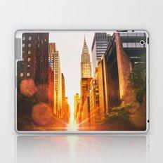 NYC Skyline Sunset Laptop & iPad Skin