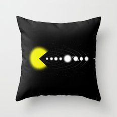 Solar Expansion Throw Pillow