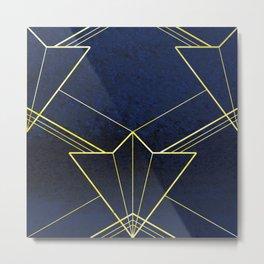 Art Deco Diamond Metal Print
