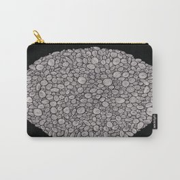 Black and white abstract Carry-All Pouch