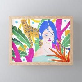 Wild Jungle Framed Mini Art Print