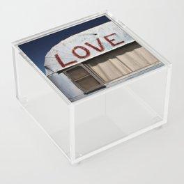 Love All People Acrylic Box
