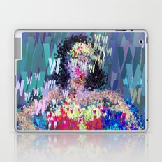 Wonder Type Woman - Abstract Pop Art Comic Laptop & iPad Skin