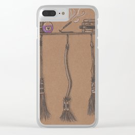 Witches Cubby Clear iPhone Case