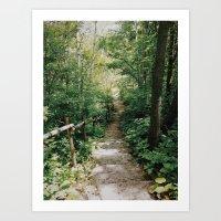 Steps to Somewhere  Art Print