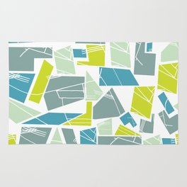 Abstract Architecture Rug