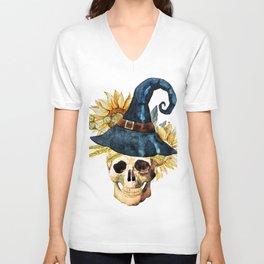 Skull 05 Unisex V-Neck