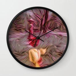 Tulip Hydrant Wall Clock
