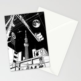 Night in Tokyo 2020 Stationery Cards
