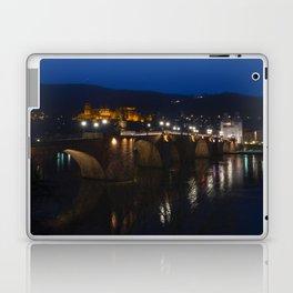 Heidelberg Bridge and Castle by Night Laptop & iPad Skin