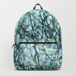 Blue winter garden Backpack