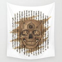Life Skull Wall Tapestry