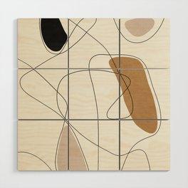 Thin Flow II Wood Wall Art