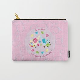 Jahmi & Whimsy: Positively Charming! Carry-All Pouch