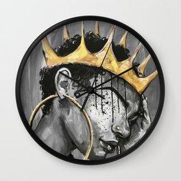 Naturally Queen X Wall Clock