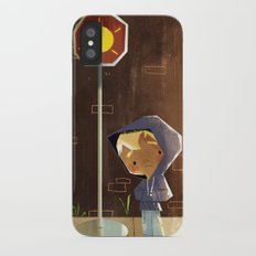 On The Sunny Side Of The Street iPhone X Slim Case