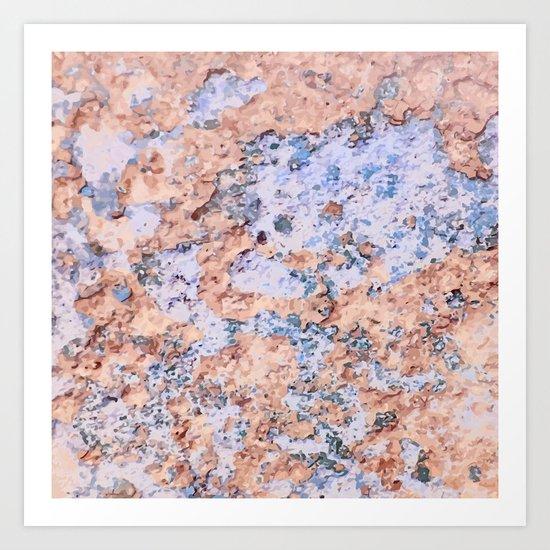 Rust Ilands Art Print