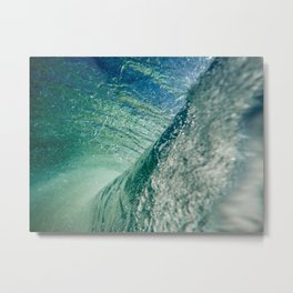 Inner Wave Break Metal Print