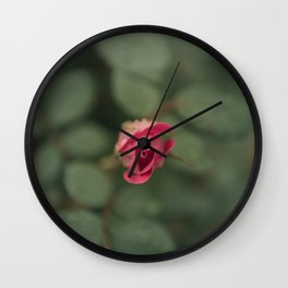 heart flower Wall Clock