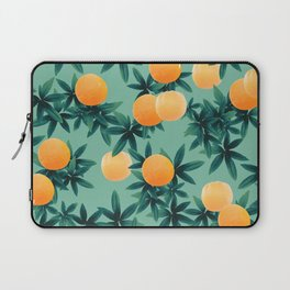 Orange Twist Vibes #1 #tropical #fruit #decor #art #society6 Laptop Sleeve