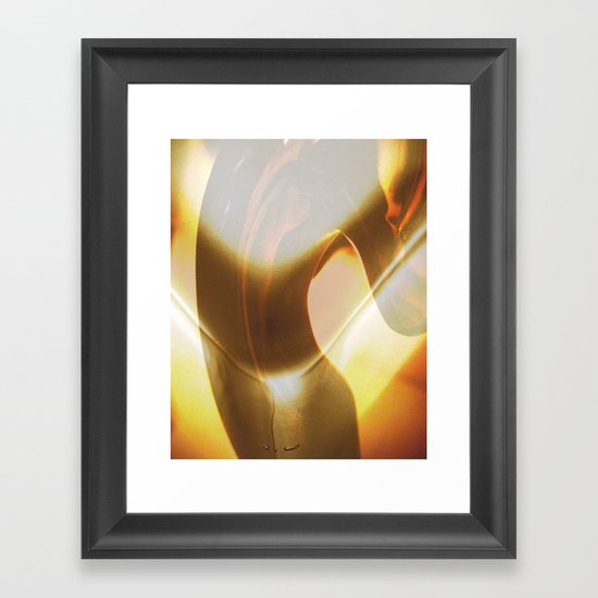 The Stretch Framed Art Print