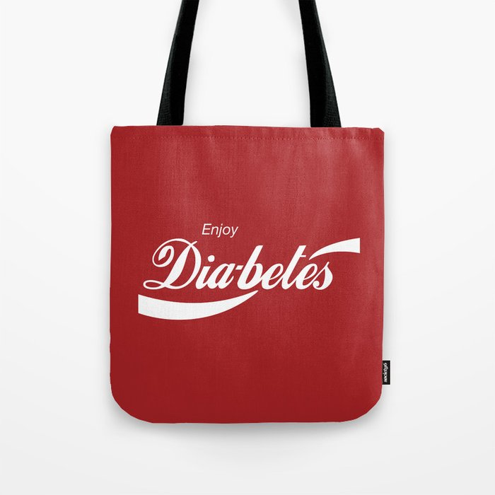 Enjoy Diabetes Tote Bag