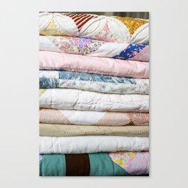 quilts Canvas Print