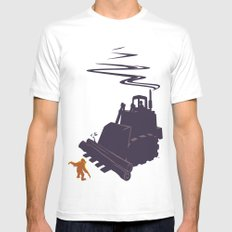 The Last Stand MEDIUM Mens Fitted Tee White