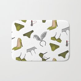 Underwear collection Bath Mat