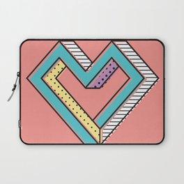 le coeur impossible (nº 2) Laptop Sleeve