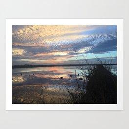 Colored Skies Art Print