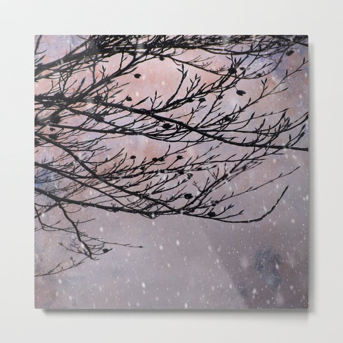 Dusky Winter Days Metal Print