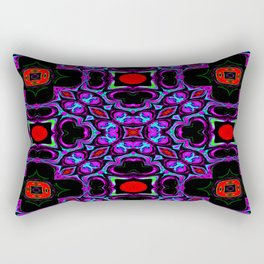 He Bought Her Flowers - Liquid Kind Of Love Collection Rectangular Pillow