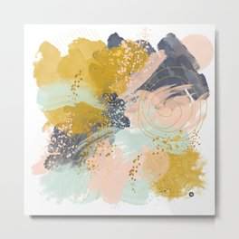 Abstract paint Metal Print