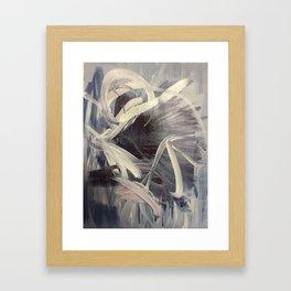 Dance of the Ice Flower Framed Art Print