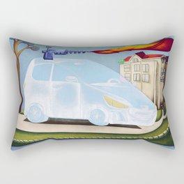 James bond's car Rectangular Pillow