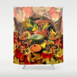 Horns of Plenty Shower Curtain