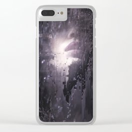 Trombes 1 Clear iPhone Case