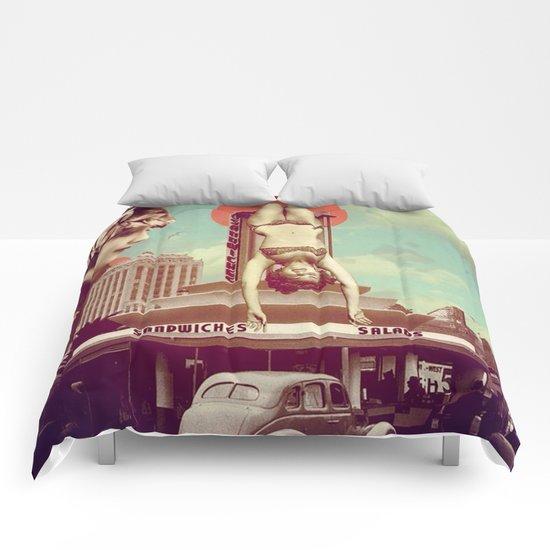 Just Hanging Around Comforters