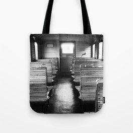 Old train compartment - Altes Zugabteil Tote Bag