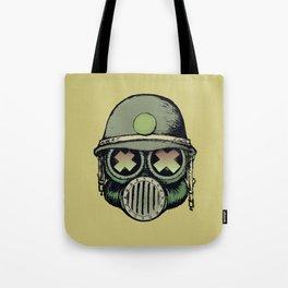 War Skull Tote Bag