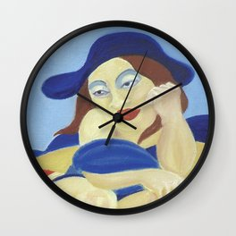 Highly Serious Contemplations Wall Clock