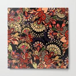 Floral fantasy. Metal Print
