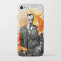 goldfish iPhone & iPod Cases featuring Goldfish by tillieke