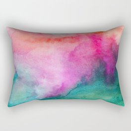 Staring at the Ceiling Rectangular Pillow